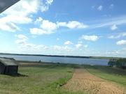 Земельный участок на самом берегу озера