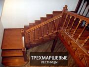 Эксклюзивные лестницы из массива. Дорого