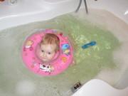 Надувные круги на шею для купания и плавания младенцев!